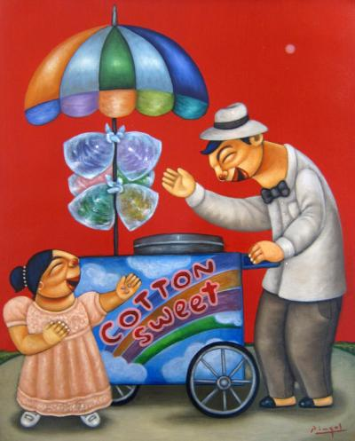 Cotton Candy Vendor II